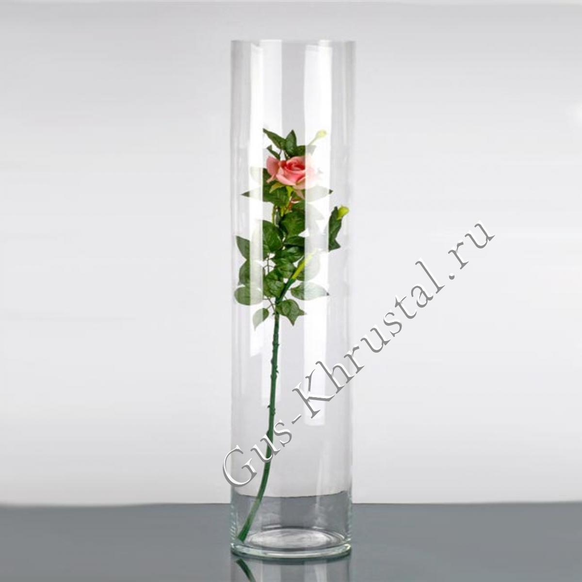 Ваза Цилиндр 40см (стекло)